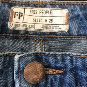 Free People Jeans - Free People Denim shorts, size w 26